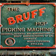 BRUFF HOP PICKING MACHINE