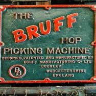 BRUFF HOP PICKING MACHINE